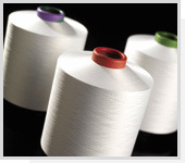 Polyester DTY Rainbow Yarn 350d/192f, 50% SD 50% Cationic, RW
