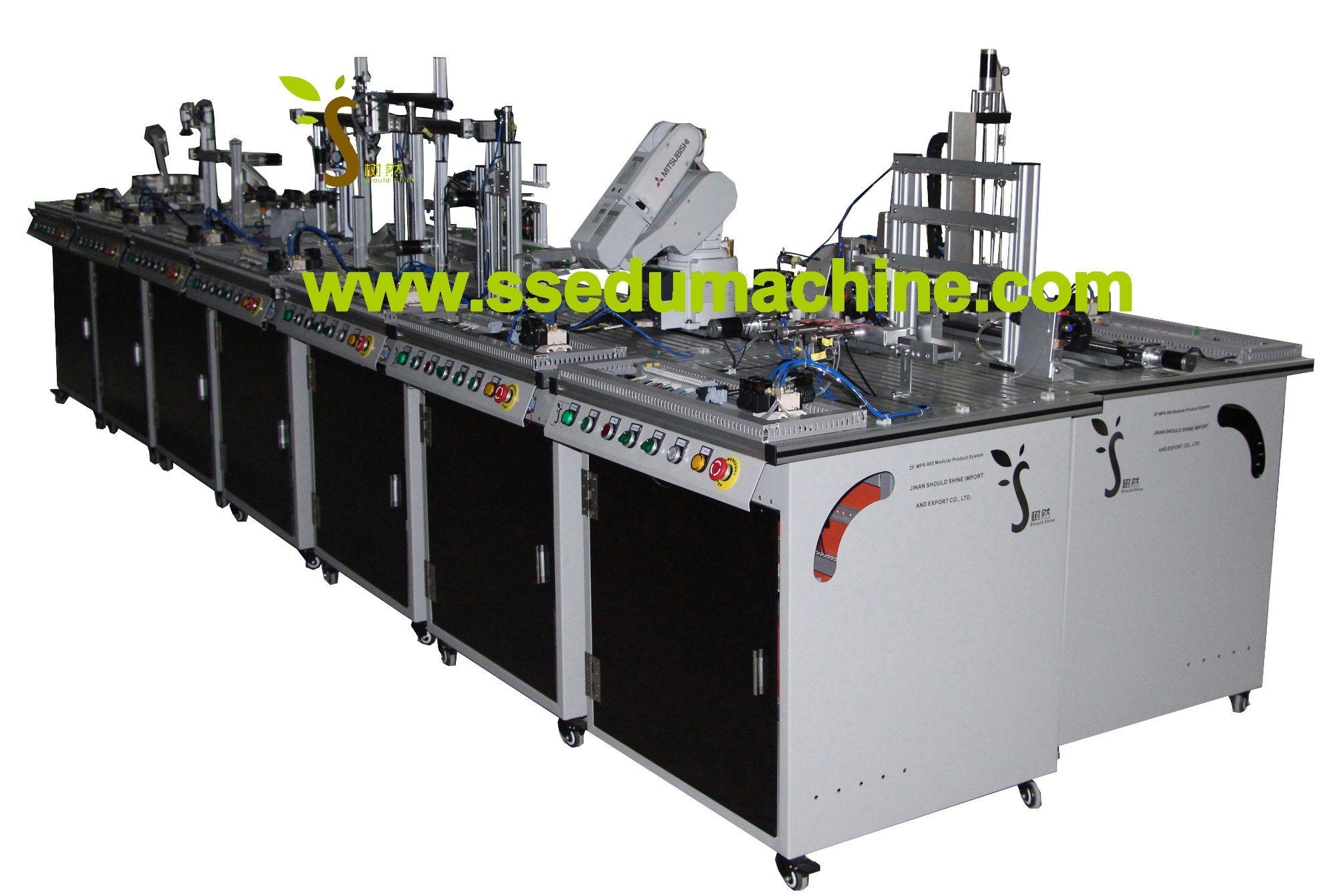 Flexible Manufacture System Mechatronics Training Equipment Mechatronics Trainer Mps