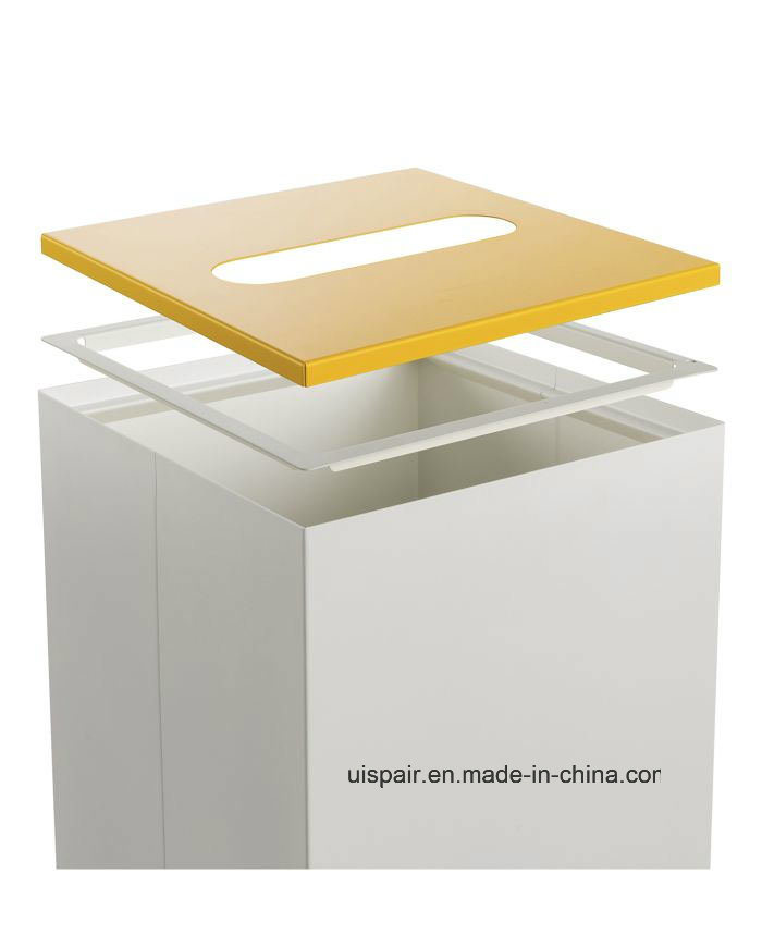 Uispair Modern Trash Garbage Bin Furniture for Office Home Hotel Decoration