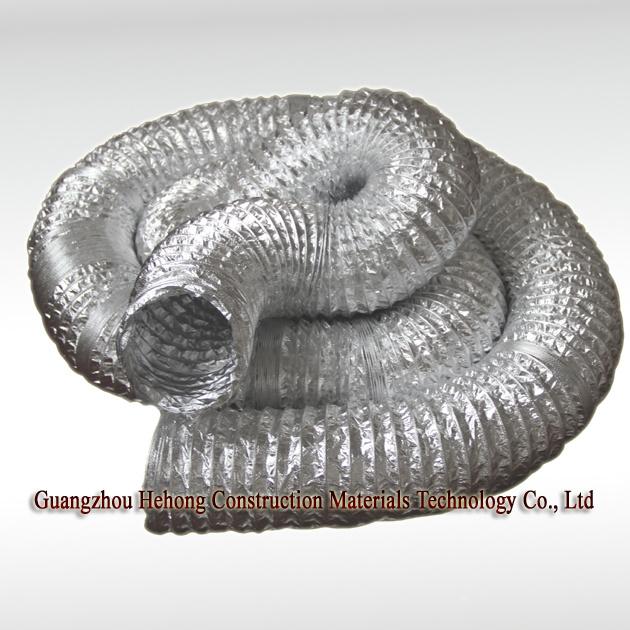 Aluminium Fiberglass Flexible Duct.