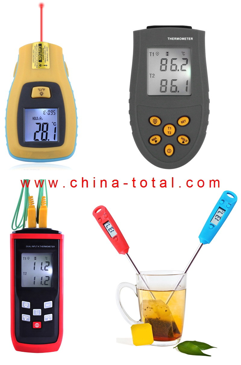 Infrared/ K Type/ Food Thermometer