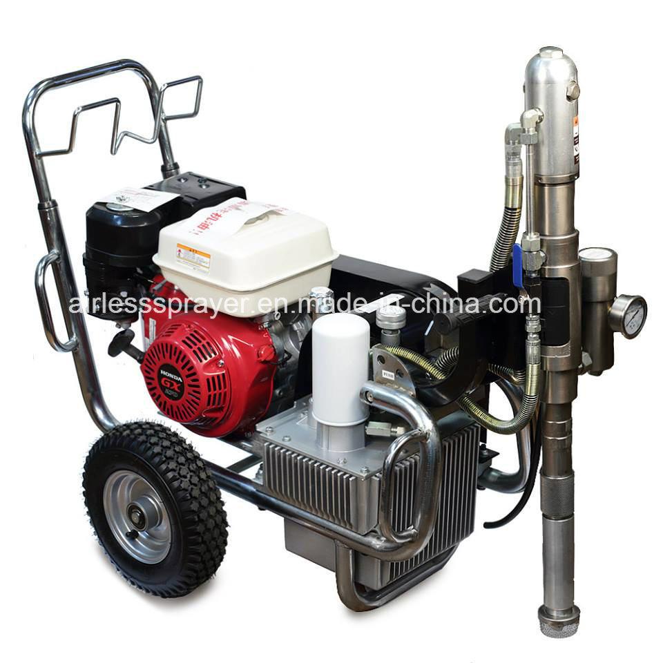 New Hyvst Gasoline Airless Paint Sprayer Spt8200 Honda or Ludwig Engine