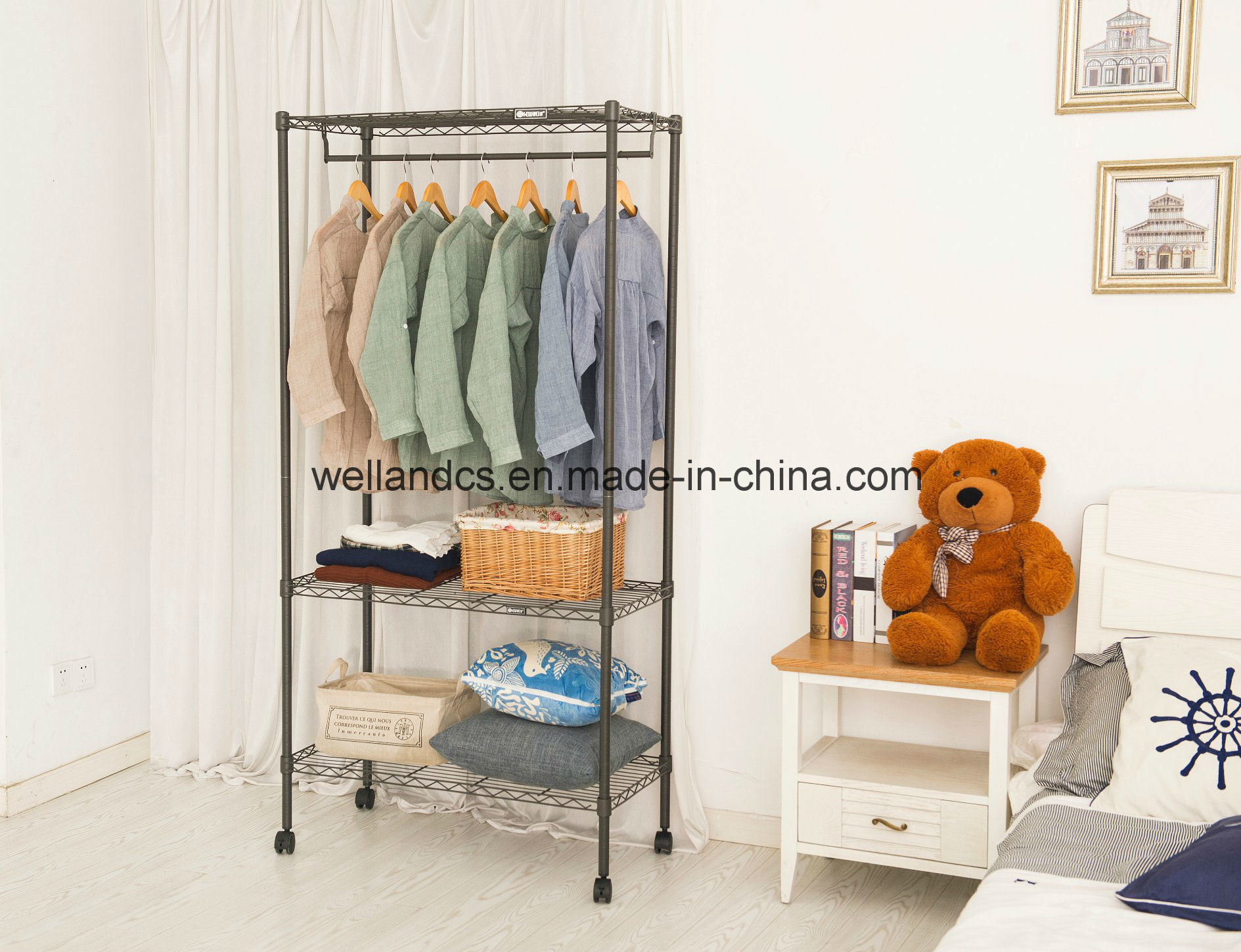 inches space foldable amazon extra off metal saving in kitchen home almirah bg cbeeso dp x wardrobe