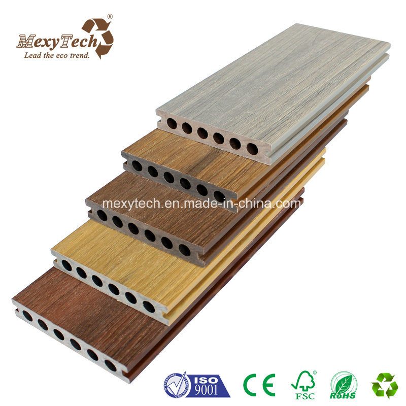 Foshan Outdoor Deck Factory Wood Plastic Composite WPC Decking Board pictures & photos