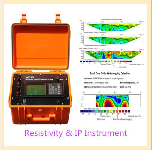 Geophysical Underground Resistivity Meter for Underground Water Exploration, Ground Water Detection
