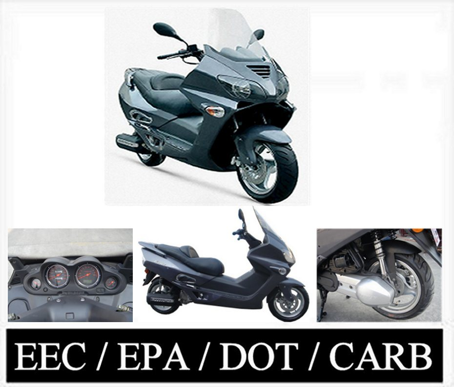 China 2008 Model European Design 150cc 250cc Scooter Eec