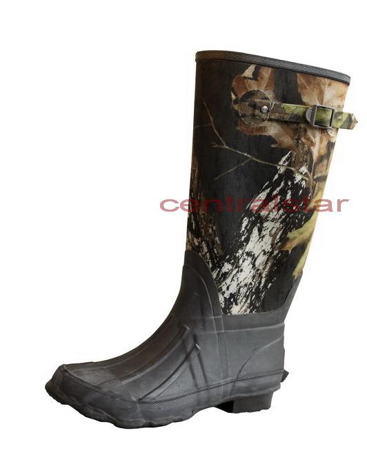 China Fashion Camo Upper Rubber Boots (3024) - China ...