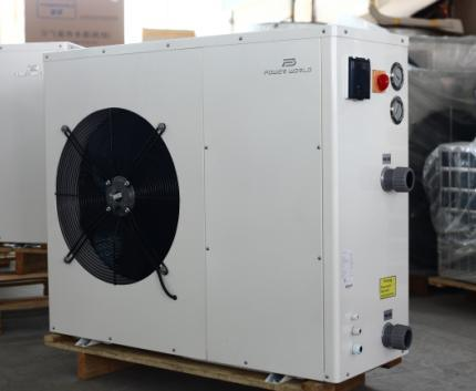 China easy installation and energy saving swimming pool - Swimming pool heat pump installation ...