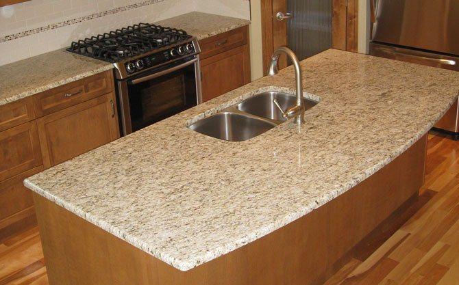 Countertop Yellowing : China Yellow Granite Countertop (WFCM013) - China Granite Countertop ...