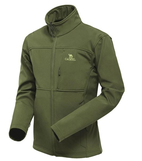 Men′s Waterproof Breathable Windproof Softshell Jacket