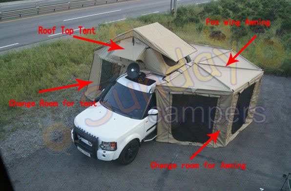 China 2013 New Roof Top Tents With Awning As Same Arb