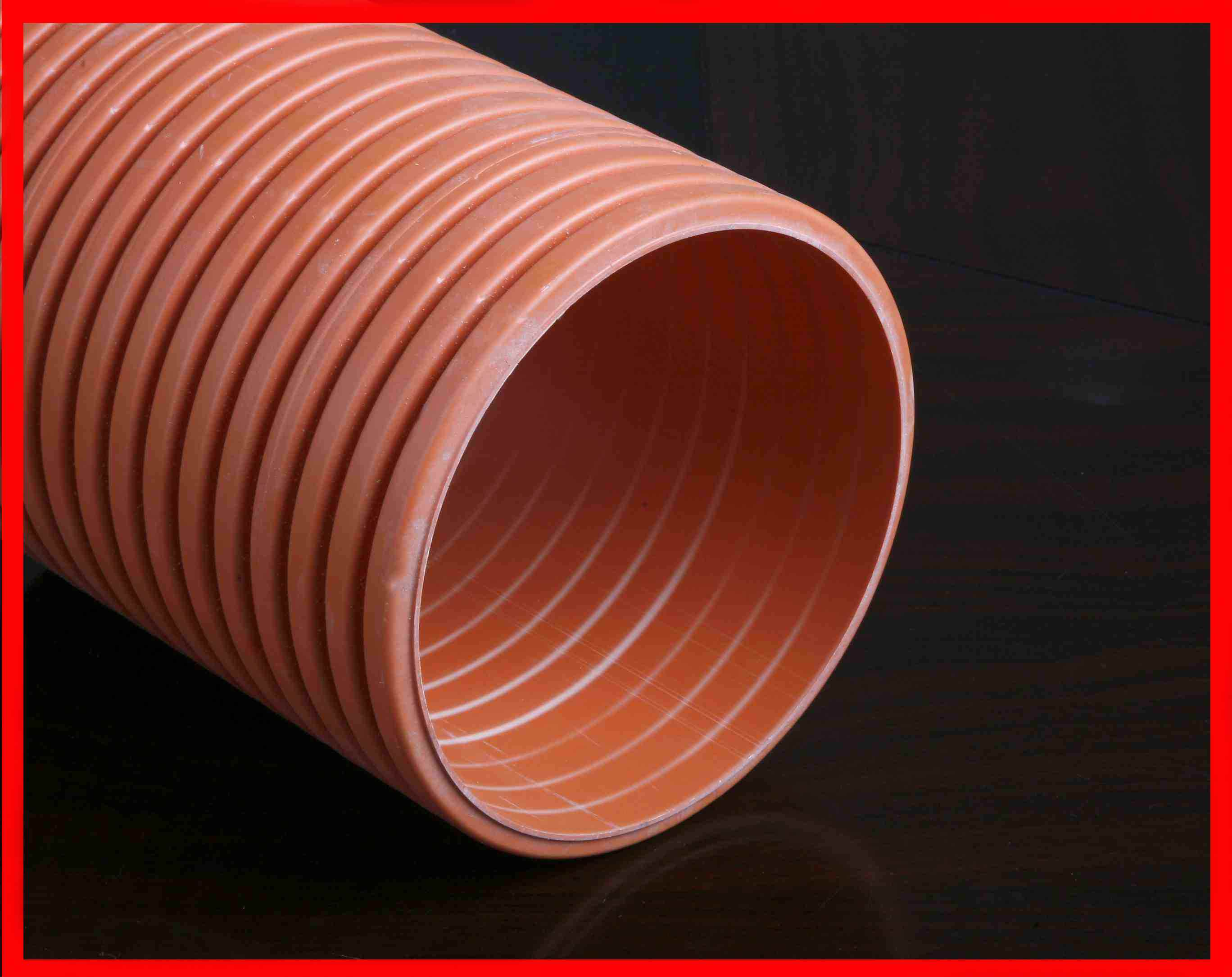 China double wall corrugated pipe plastic