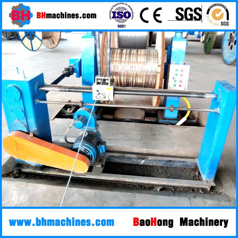 400/1+6 Tubular Stranding Cable Machine for Hcr Inner Strands