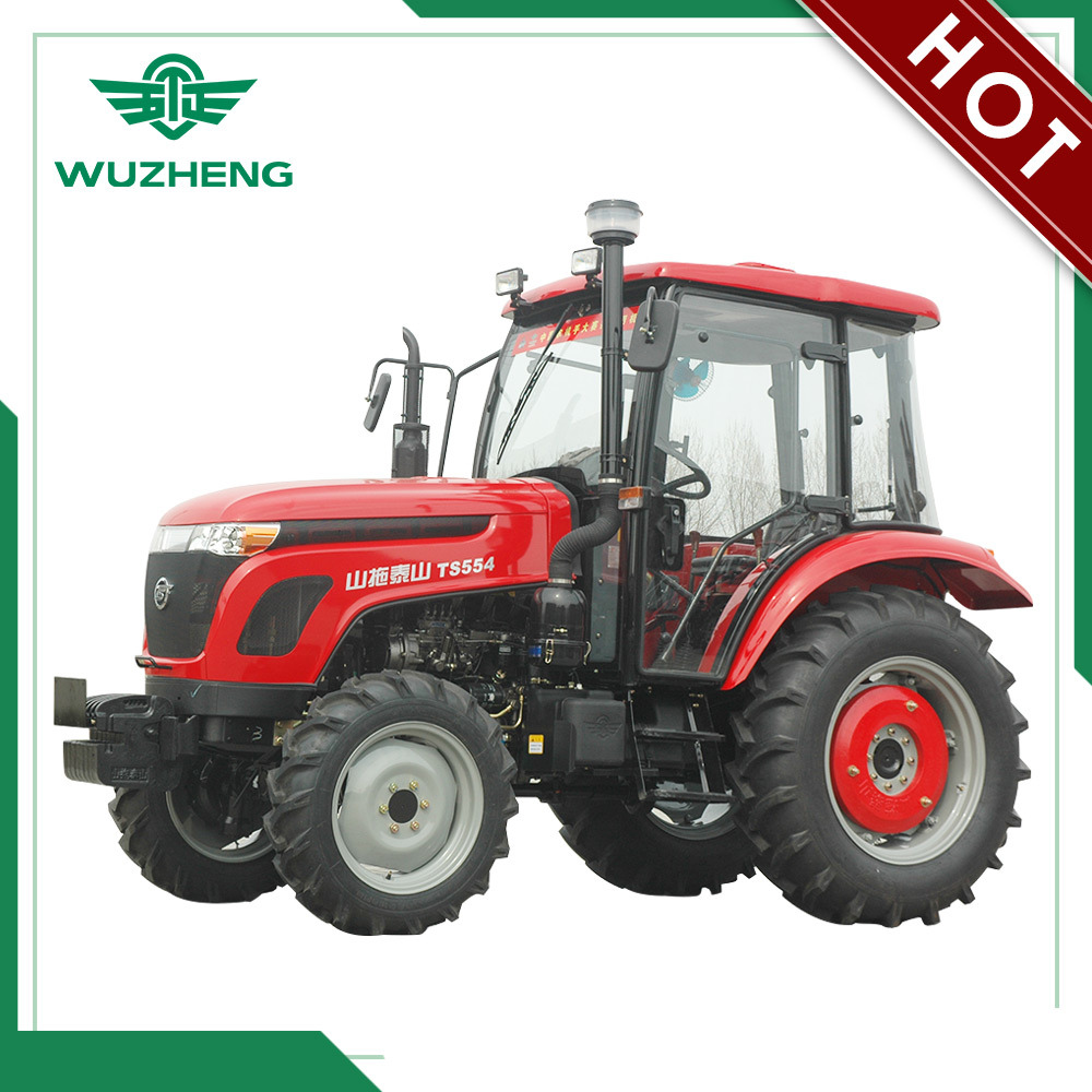 Waw Agricultural 55HP 4WD 8f+8r Gear Tractor From China (MC554)