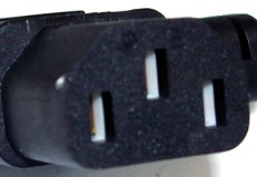 Power Cord Plug Connector for U. S. & Canada (YS-22)