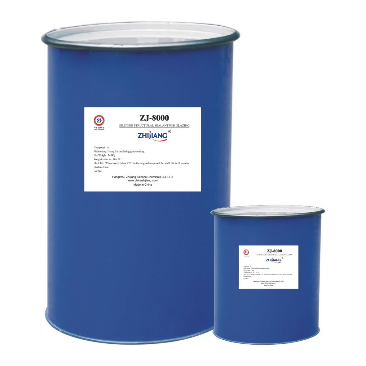 Structural Glazing Product : China two parts silicone structural sealant for glazing