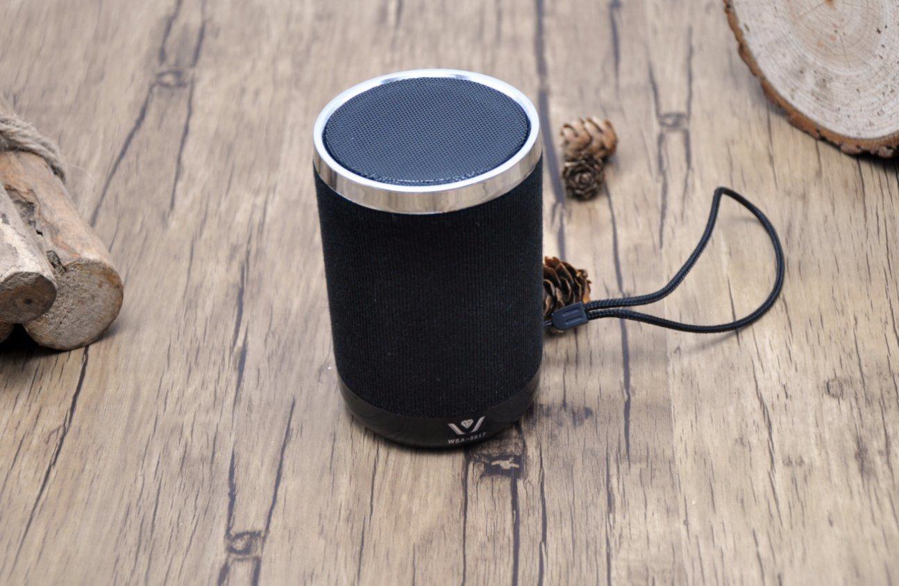 Fabric Mini Portable Wireless Bluetooth Speaker Wsa-8617 (Daniu brand) Withfm Radio, TF Card, USB, Aux in