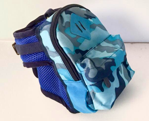 Camo Polyester Puppy Dog Bag Pet Carrier
