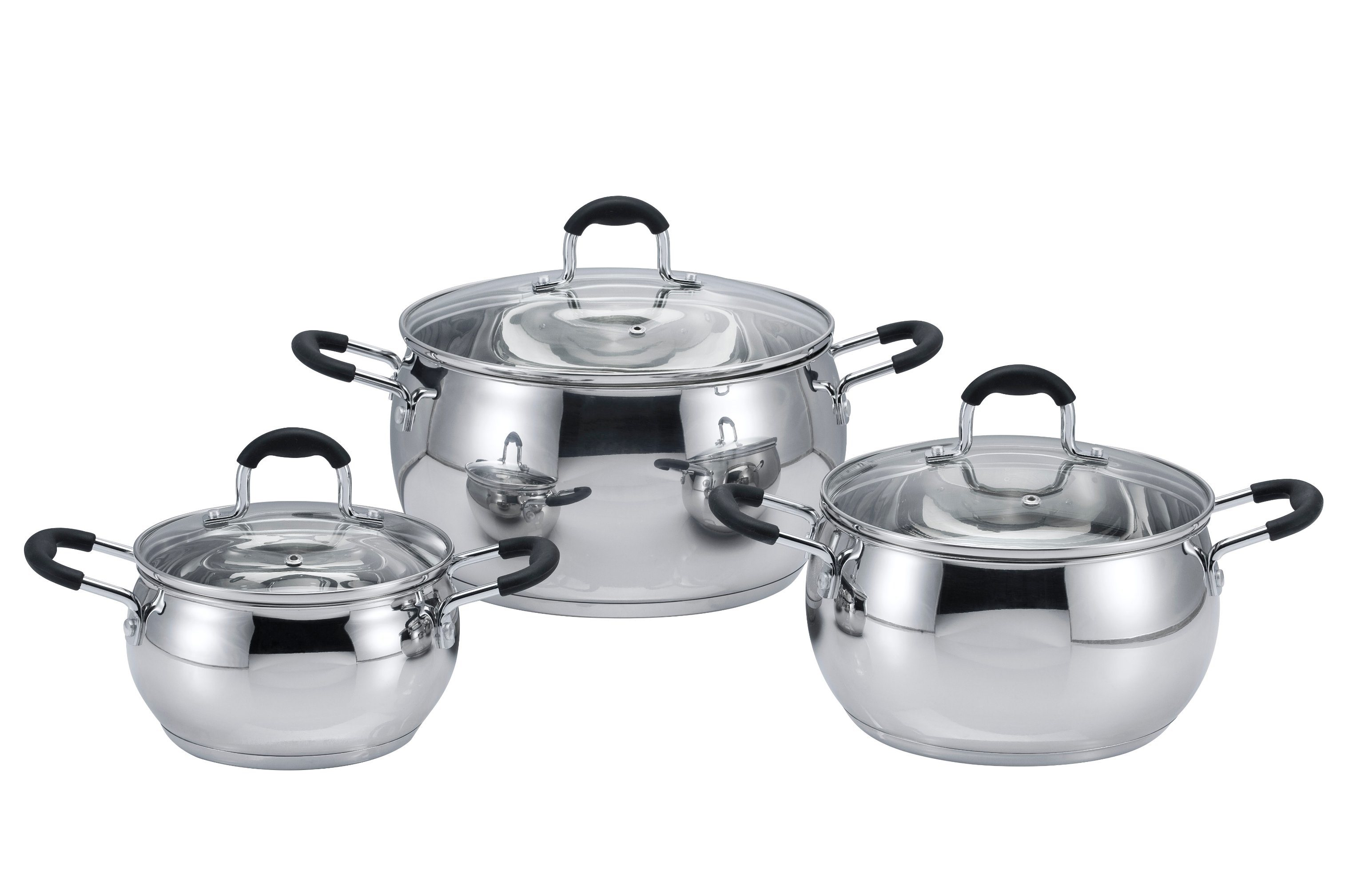 6 PCS Sicica Gel Cookware Set