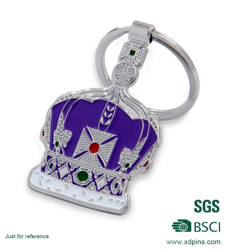 New Soft Enamel Metal Custom Design Key Chain Promotion Gift