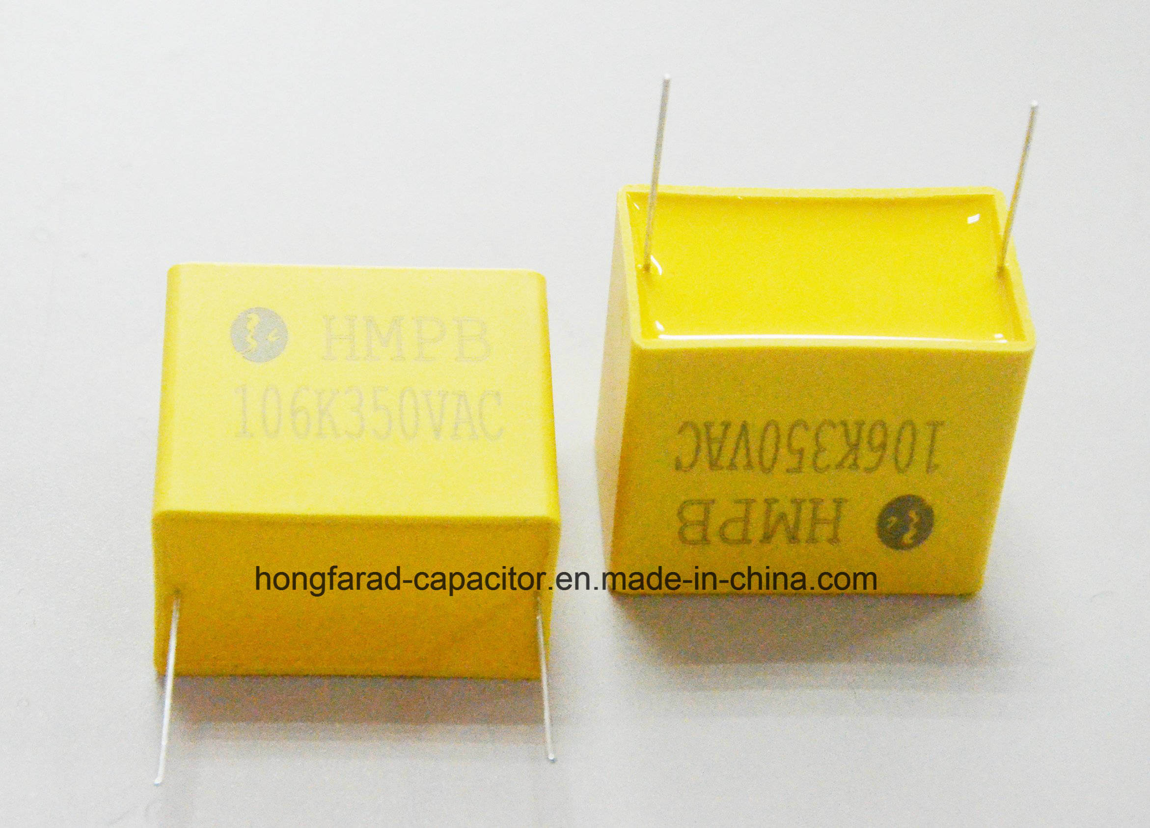 Metallized Polypropylene Film Capacitor with Box Cbb21b Mpb