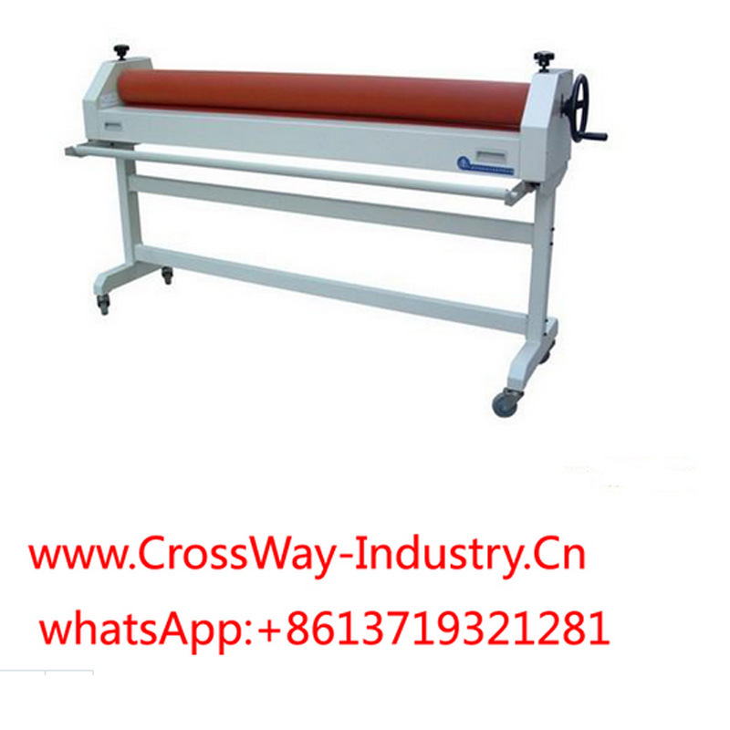 Large Size Manual Cold Laminator 1.6m for Signs