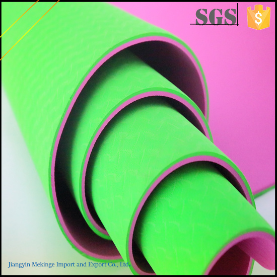 Fashionable TPE Yoga Mat 6mm From Chinese Supplier