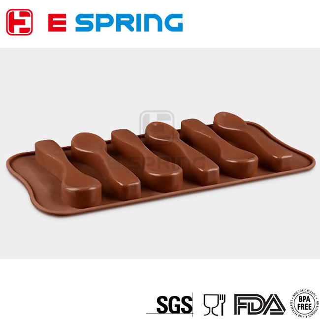 DIY Pastry Cooking Tools Spoon Styling Cake Decorating Tools Silicone Bakeware Fondant Chocolate Mold