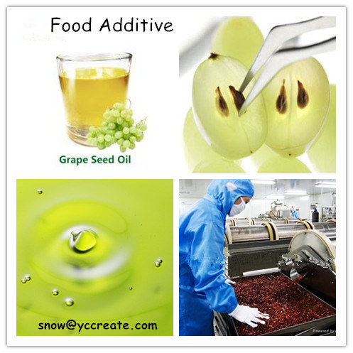 Carrier Oil Grape Seed Oil CAS 85594-37-2 Food Additive