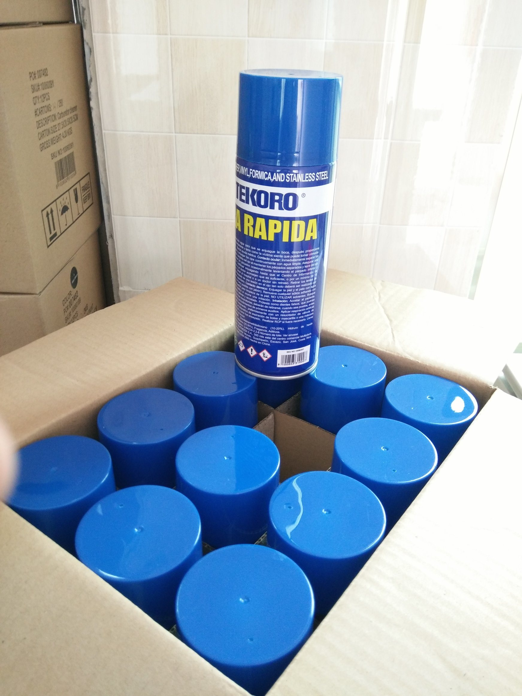 Silicone Spray Lubricant for Leather, Vinyl, Formica and Stainless Steel