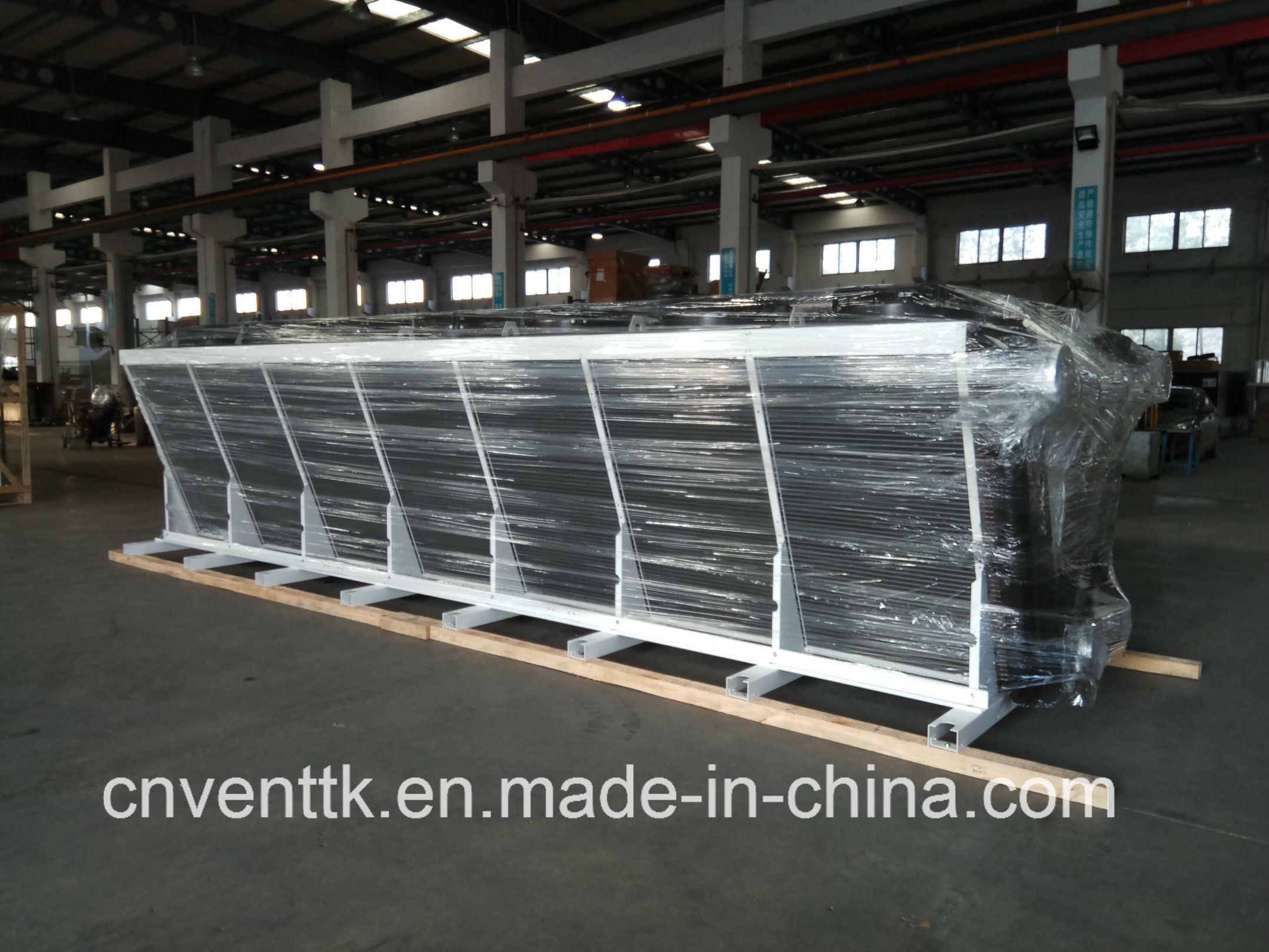 Floor Standing Industrial Dry Type Air Cooler Condenser