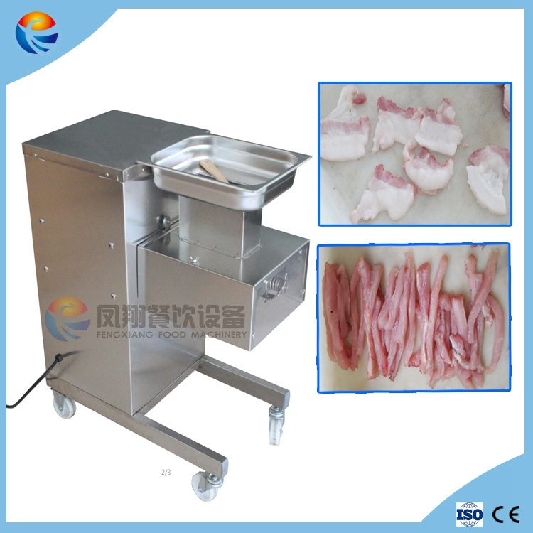Automatic Electric High Quality Fresh Meat Pieces & Strips Julienne Cutting Slicing Machine