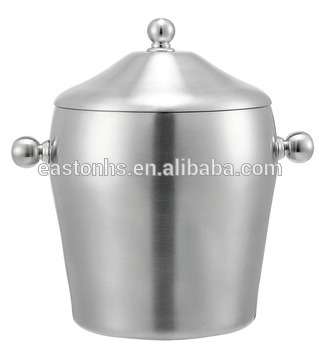 Hotel Guest Room 1.2L Stainless Steel Ice Bucket