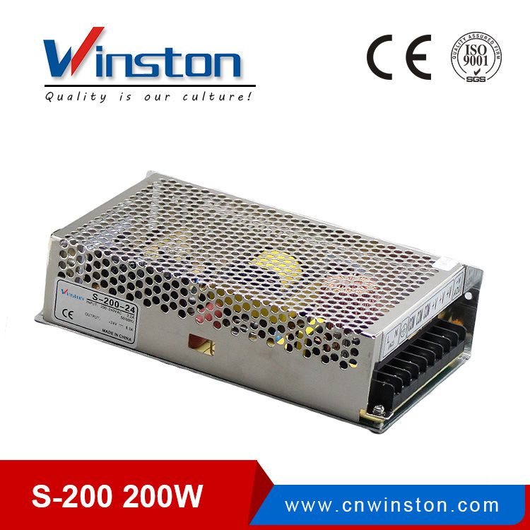 Single Output Protections Switching Power Supply (S-200)