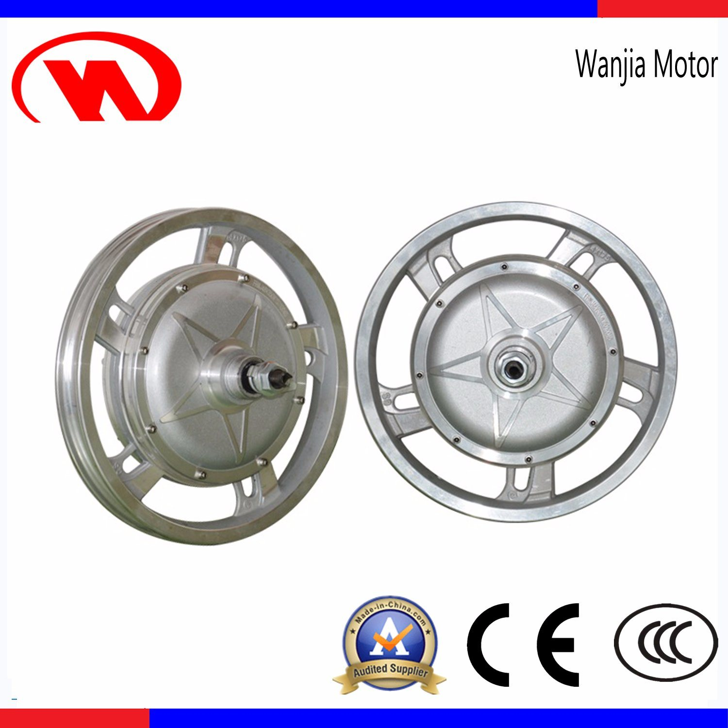 14 Inch DC Brushless Hub Motor for Lithium Trolley