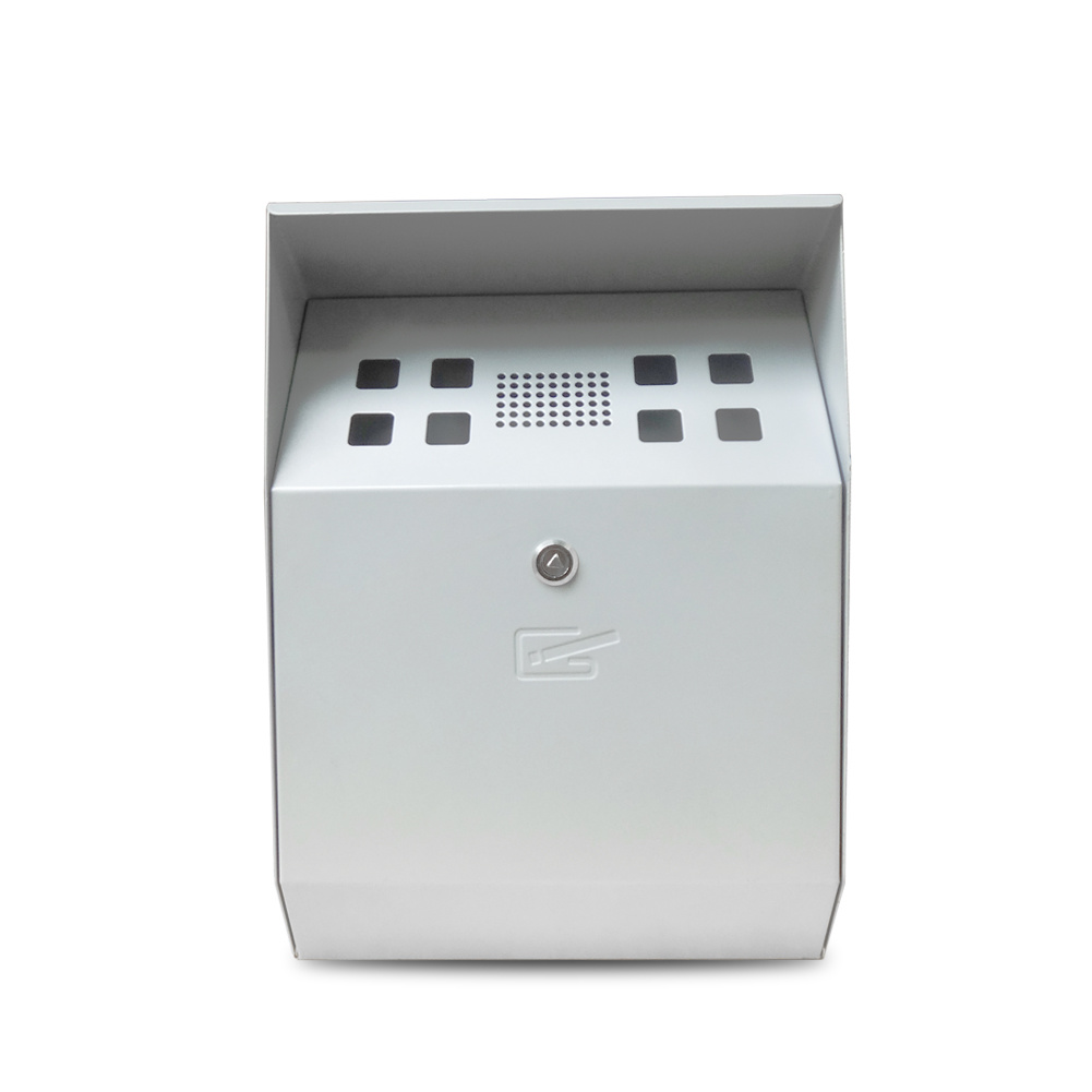 Curve Self-Extinguishing Weather- & Theft-Proof Wall-Mounted Cigarette Bin