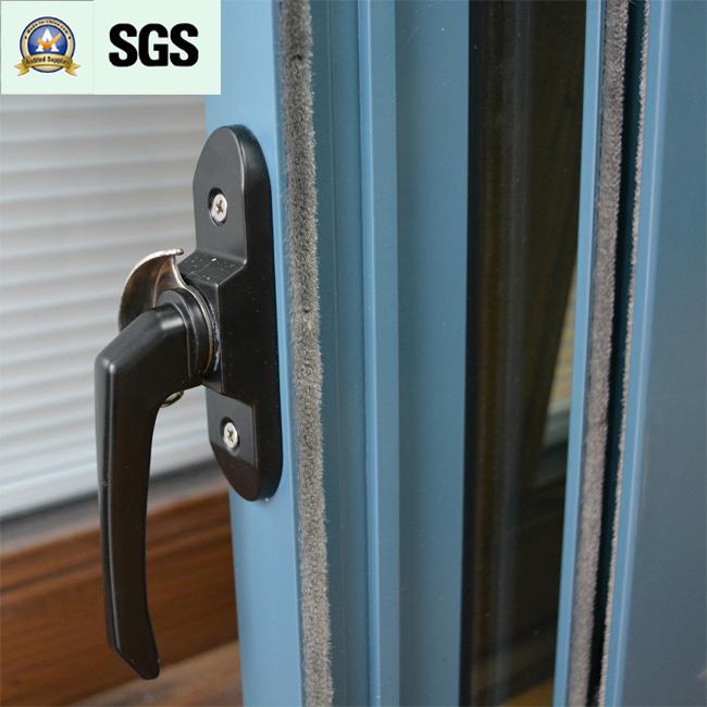 Australia Style Powder Coated Aluminum Sliding Window K01058