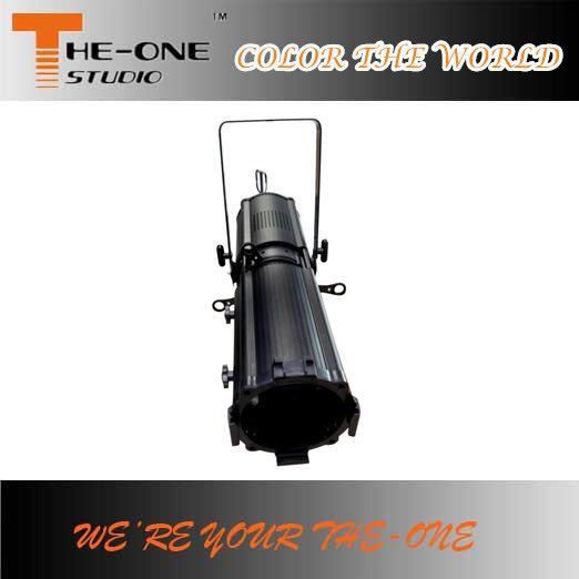 200W Profile Spot Light Zoom LED Ellipsoidal