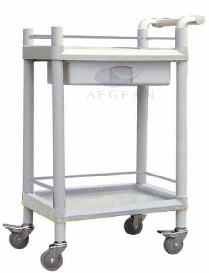 AG-Uta08 with Pushing Handle Hospital Crash Cart Medical Trolleys