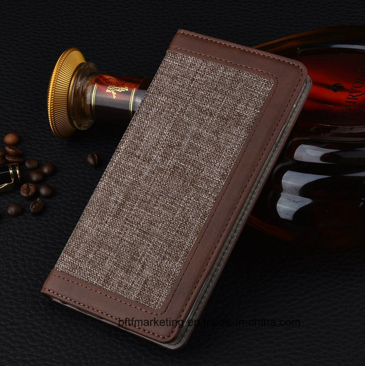 Fabric Wallet Cell Mobile Phone Case for iPhone 8/8plus