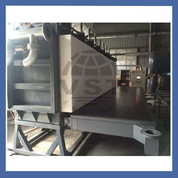 Ce Certificated Vacuum Supported Block Molding Machine
