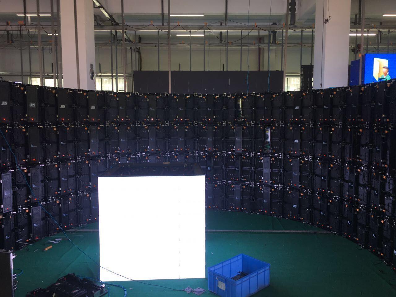 Advertising Stage Indoor Rental LED Display P3.125, P3.91, P4.81