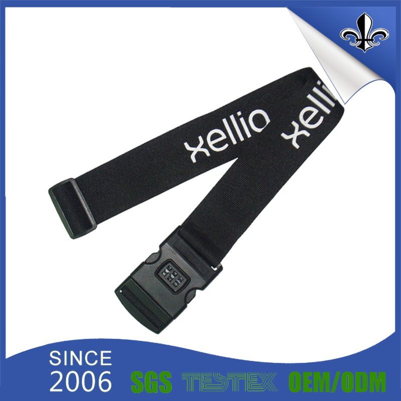 No Minimum Order PP Material Excellent Luggage Strap for Suitcase