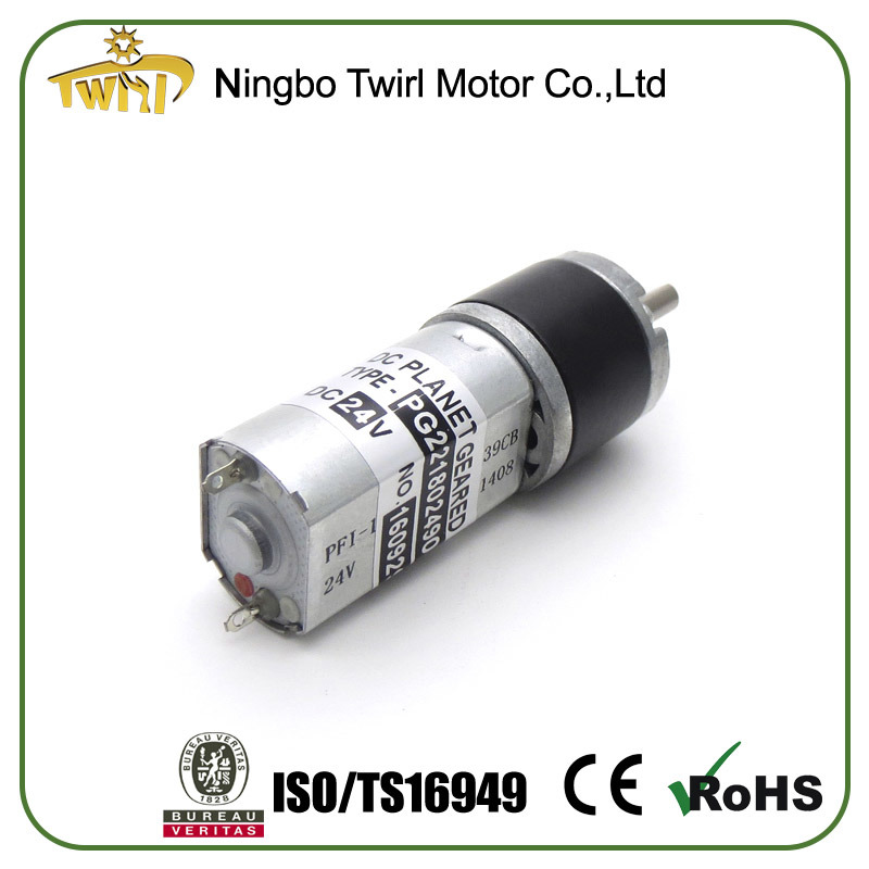 Quality Small 22mm Motor Planetary Gearbox