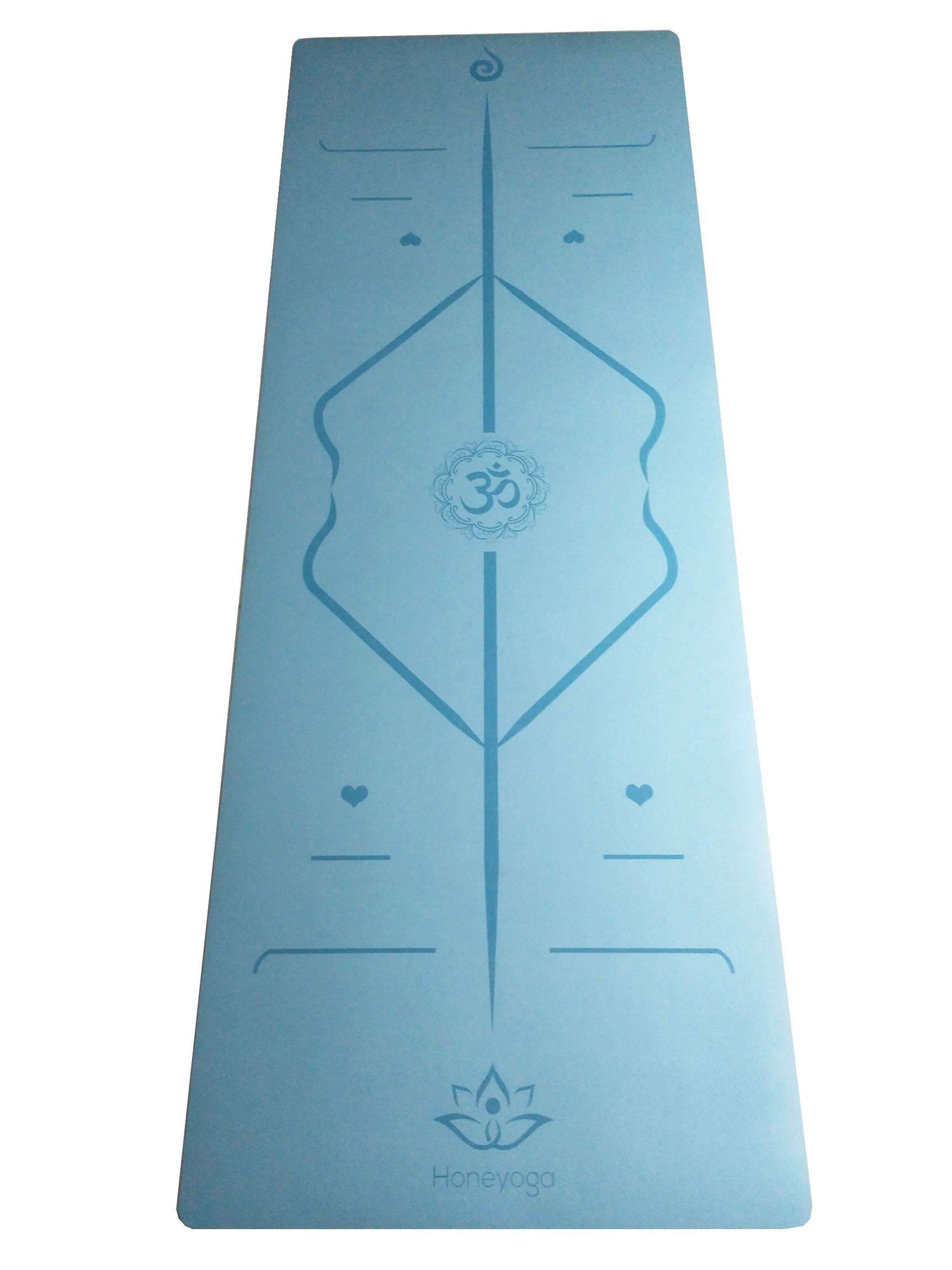 Wholesale Superior PU Rubber Yoga Mat with Custom Laser Eatching Logo