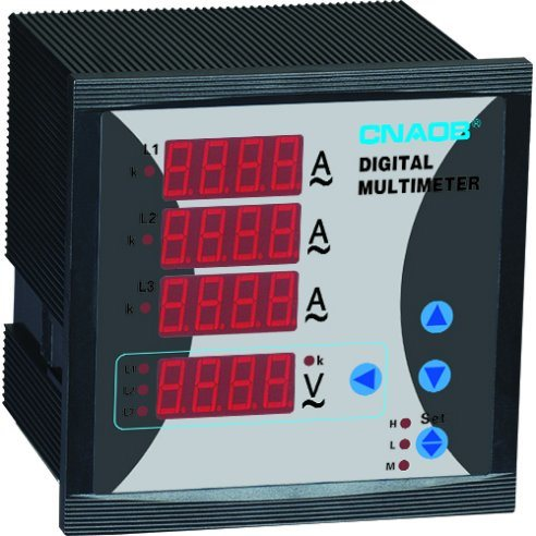 Cnaob Three Phase Voltage Current Combined Meter