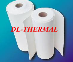 No-Binder Bio-Soluble Fiber Paper Thermal Insulation 0.3mm Thick