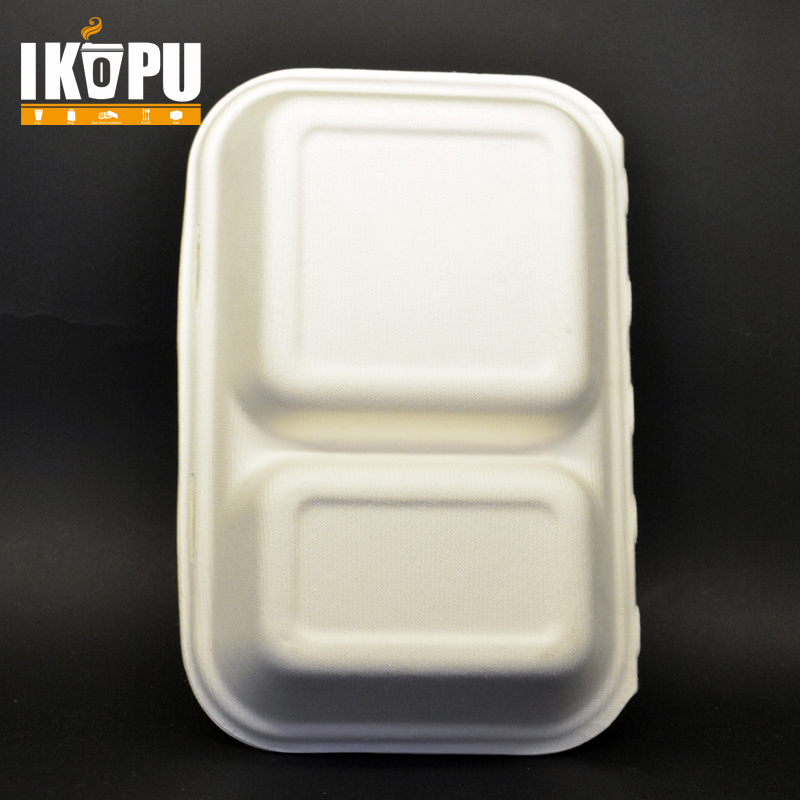 Biodegradable Disposable Eco-Friendly Compostable Take Away Paper Lunch Box