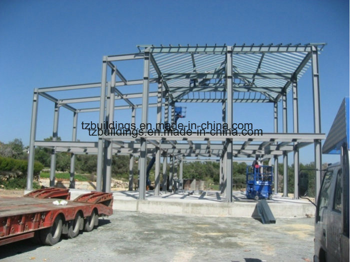 Single Span Pre-Engineered Steel Frame Buildings
