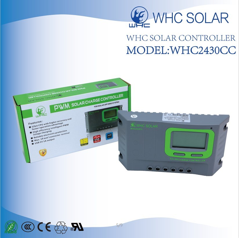 PWM 12/24V 30A Solar Charge Controller